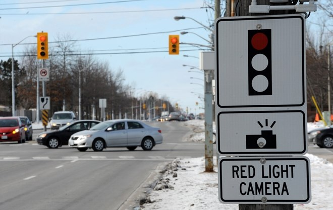 Red Light Camera Stats In Halton Region