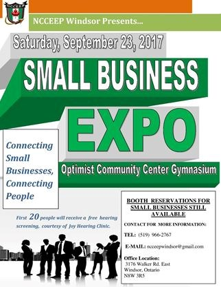 Small Business Expo (hosted by NCCEEP Windsor) on September