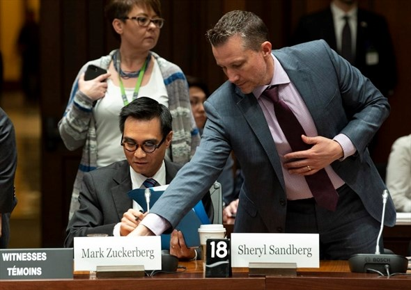 Facebook's Zuckerberg and Sandberg named in unprecedented
