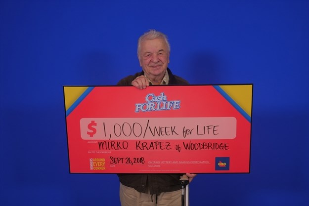 Woodbridge man opts for $650K payout in Instant Cash For