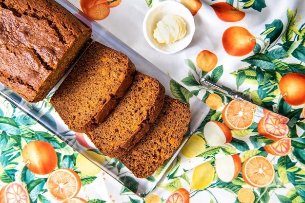 Sweet potatoes make this the best from-scratch breakfast bread