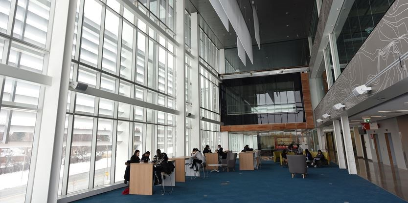 Classes In Session At New 85m Seneca College Addition In North York Toronto Com