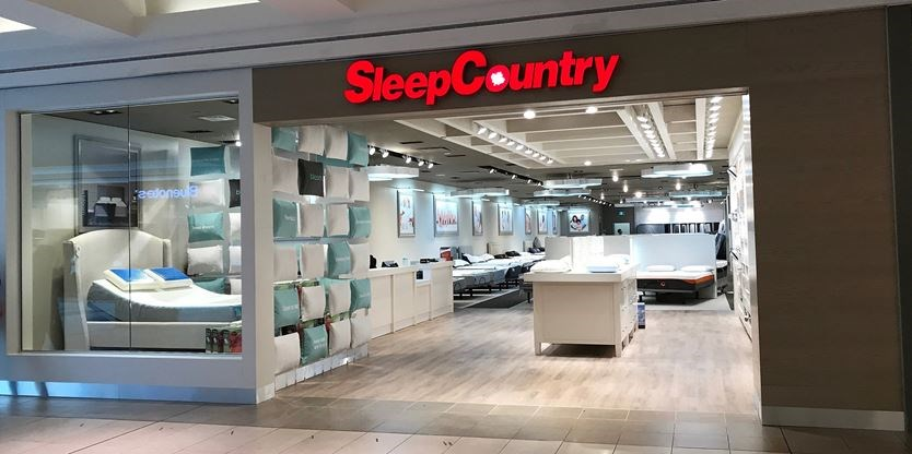 Sleep Country opens location in North York's Fairview Mall