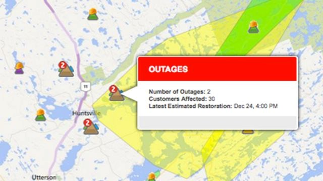 Power Still Out In Huntsville Muskoka Lakes Muskokaregion Com