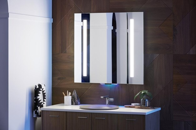 Stupendous Mirror Mirror On The Bathroom Wall Thespec Com Download Free Architecture Designs Sospemadebymaigaardcom