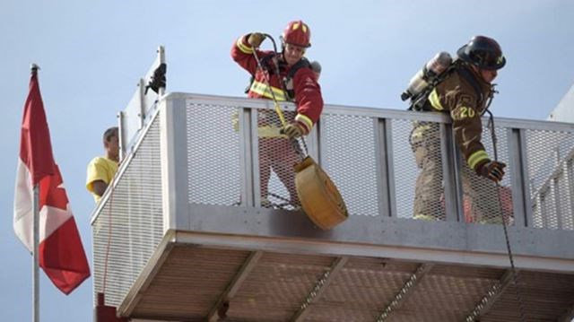 Brampton firefighters test their mettle at world championships
