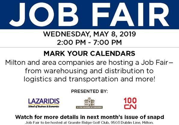 Milton Supply Chain and Logistics Job Fair on May 08,2019