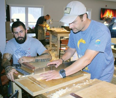 Woodworking Provides A Form Of Peace For Veterans