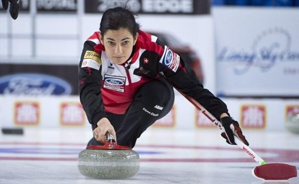 Switzerland wins women's curling world championships