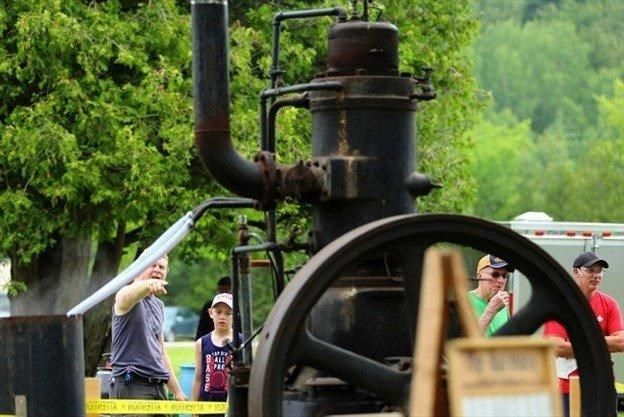 Smoke and Steam for Father's Day at Lang Pioneer Village in