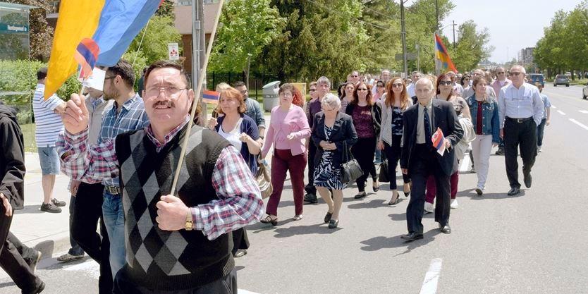 Armenian Independence Day parade