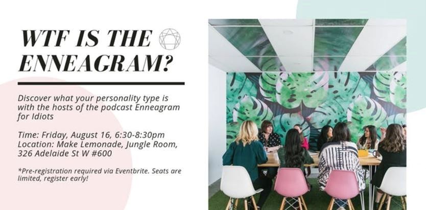 WTF Is The Enneagram? Discover Your Personality Type on August 16