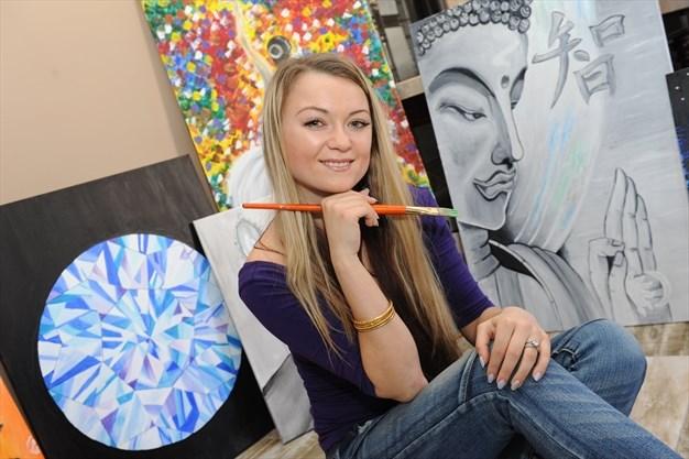 milton artist happy to hold 1st exhibition insidehalton com