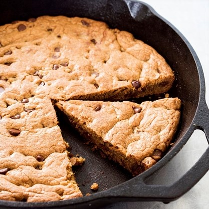A cookie in a skillet? Sure, you're skeptical  But try it