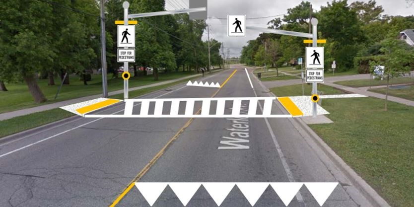 Five New Pedestrian Crossings Coming To Guelph