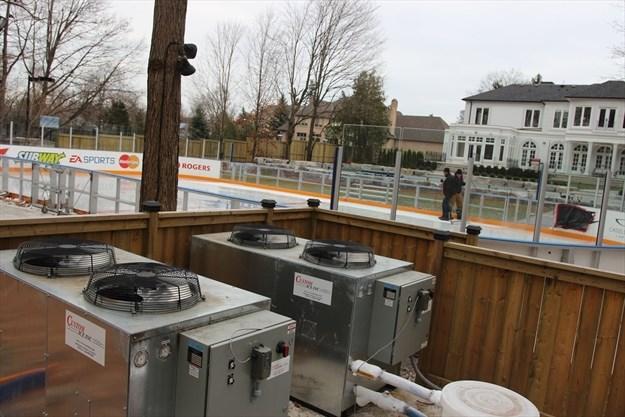 ICE, ICE BABY: Caledon rink spec