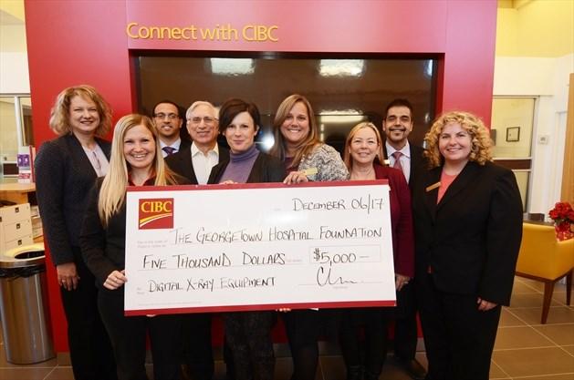 cibc s gift to georgetown hospital foundation toronto com