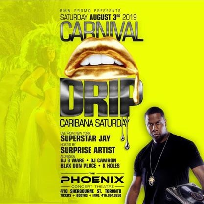 Carnival Drip: Caribana Saturday on August 03,2019   Mississauga com