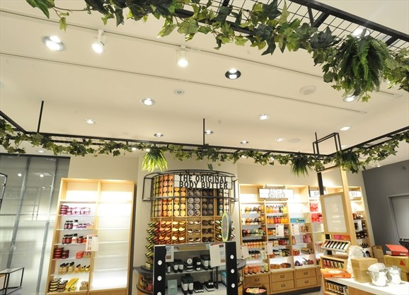 The Body Shop gives a face lift to Square One location
