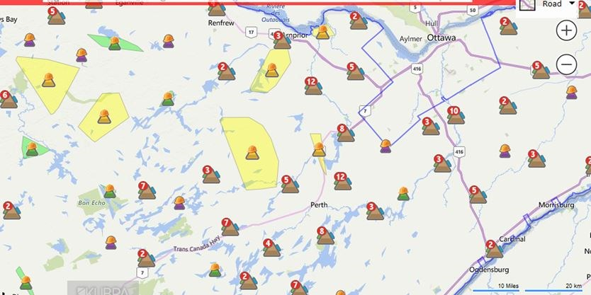 Busy Night Of Calls In Lanark County And Beyond For Hydro Workers