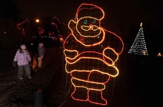 Lights waterloo park christmas