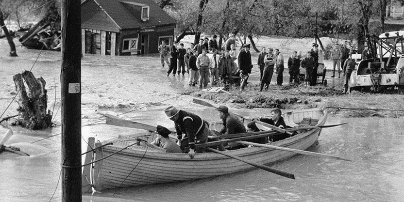 North York constable helped out when hurricane Hazel slammed