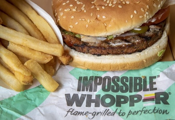 As the Impossible and Beyond burgers take off, will real