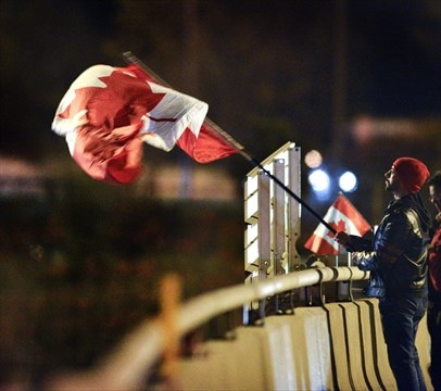 Cpl  Nathan Cirillo's journey ends as procession arrives in