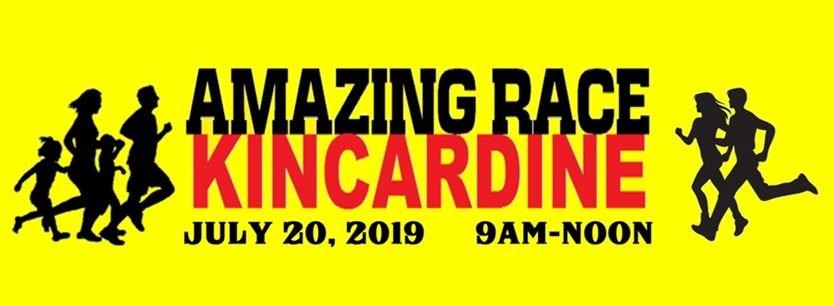 Amazing Race Kincardine 2019 on July 20,2019