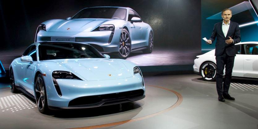 Porsche Taycan 4s At La Ourwindsor Ca