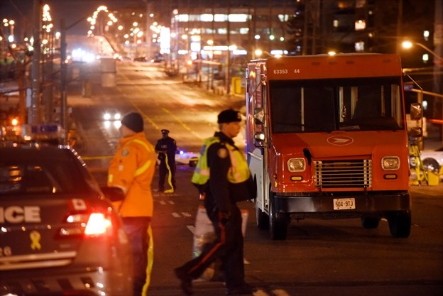 Woman, 74, dies after being hit by Canada Post truck in Scarborough