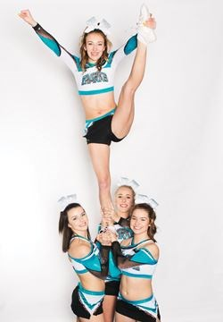 Cheer Squad Show About Great White Sharks Premiere S