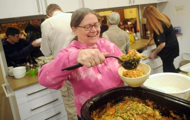 Drop-in meal focuses on offering support to those in need
