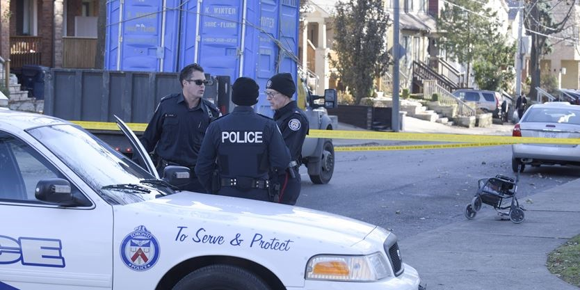 Woman, 82, dies after being hit by truck near Yonge and Eglinton