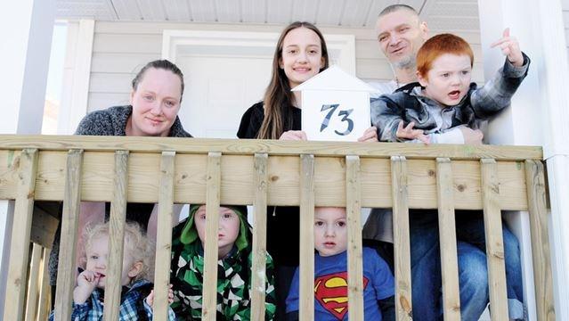 Habitat For Humanity Hands Over Keys To Port Hope Family