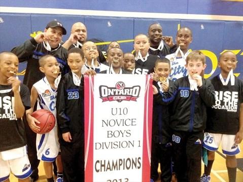 Durham City Bulldogs Win Provincial Basketball Gold Durhamregion Com