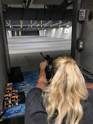 f45870ba Dawn Muis, a member at the Burlington Rifle and Revolver Club, says she  enjoys the patience and practice required to hit targets. - Jon Wells , The  Hamilton ...