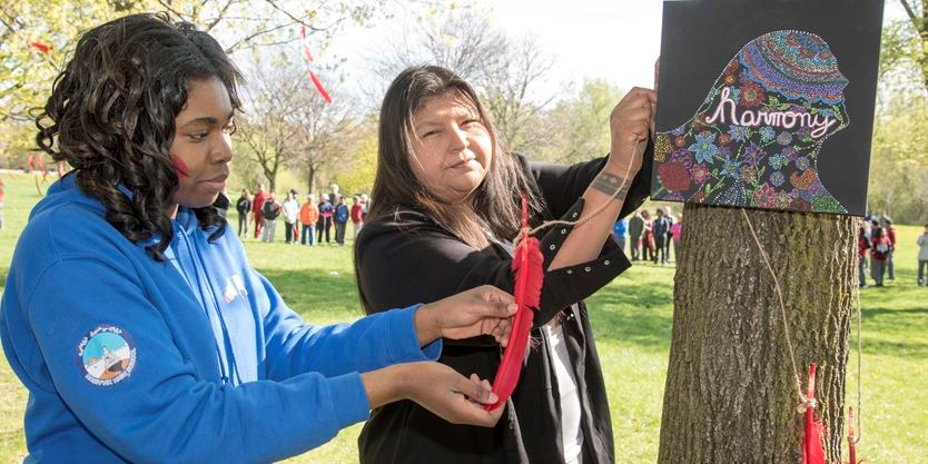 Red Feather Ceremony
