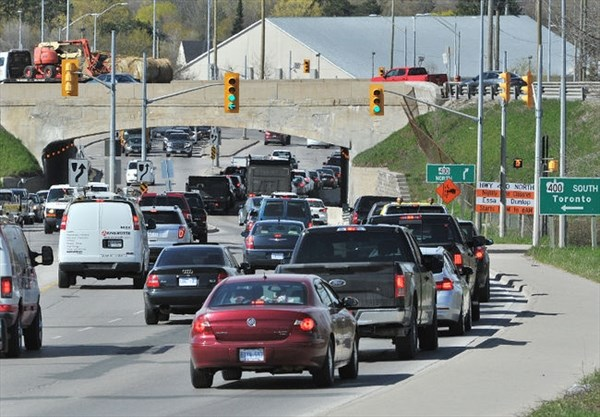 Timeline for Barrie Highway 400 expansion not known