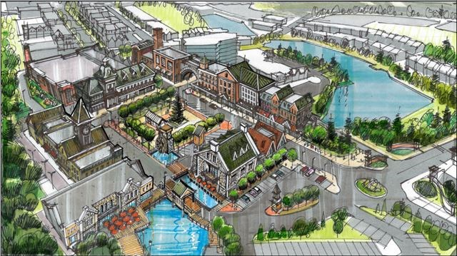 Theme park designer planning $800-million redevelopment of ...