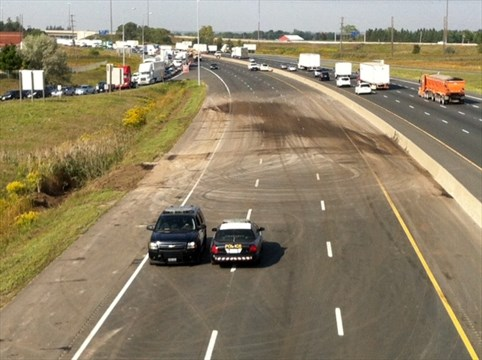 Highway remains closed for road work | Mississauga com