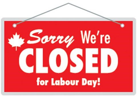 what's open on labour day 2018 in ottawa