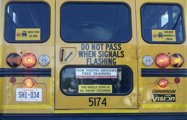 Fluid numbers' fuel fears of school bus driver shortage