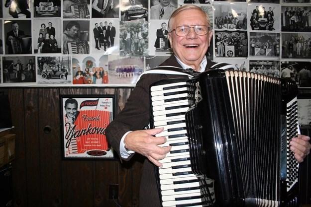 Ostanek still playing polka at...