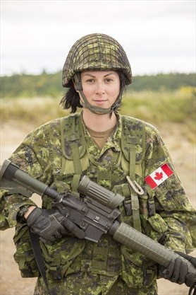 Dundas soldier finds that 'other gear' during army exercise