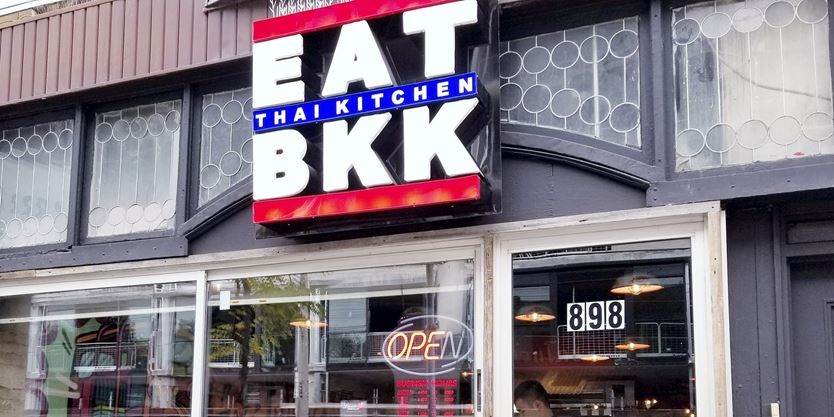 Eat Bkk Serves Thai Food With A Fusion Twist In Leslieville
