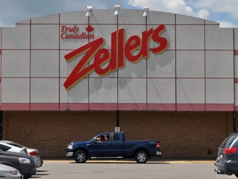 Orangeville's Zellers will permanently close its doors on March 14. - Bill  Tremblay