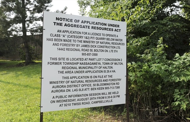 Twiss Road Quarry Bid Has Councillor Concerned Insidehalton