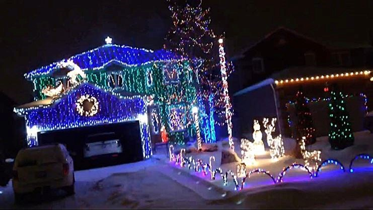 boltons very own clark griswold christmas light display in 2014 contributed - Clark Griswold Christmas Decorations