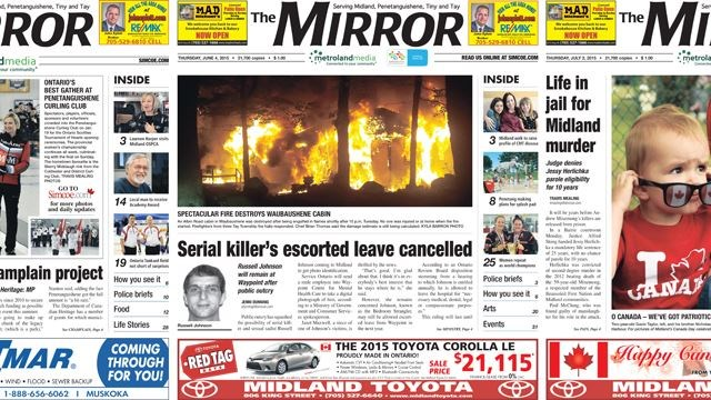The Mirror among best newspapers in Ontario in circulation